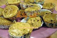 Çikolatalı Bademli Muffinler