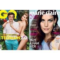 Mayıs Ayı Dergi Kapakları: Elle, Vogue Kapakları