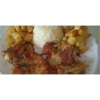 Kızarmış Tavuk Pirzola