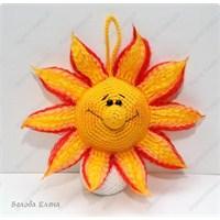 Amigurumi Güneş Yapılışı