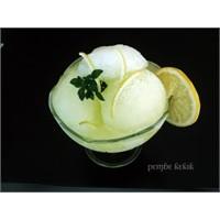 Limon Sorbe-sarı Yaz Tatlısı