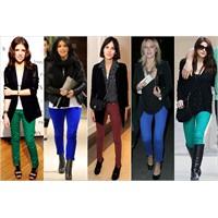 Mini Trend:parlak Renkli Jean