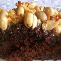 Karamel Fıstıklı Brownie