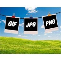 Resim Dosya Formatları ve Farkları