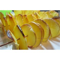 Şişte Patates (Cipsi) Kızartması