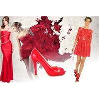 Kırmızı Elbise Seçimi.. Modelleri