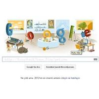 """Google'dan """"Yılbaşı Tatiline"""" Özel Doodle!"""