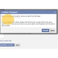 Facebook Sayfa Yönetim Şifresi Nedir?