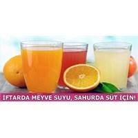 İftarda Meyve Suyu, Sahurda Süt!