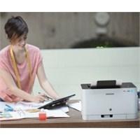 Samsung 'dan Dünyanın En Küçük Renkli Yazıcısı