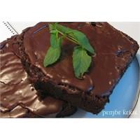 Ferahlatan Çikolatalı Naneli Kek