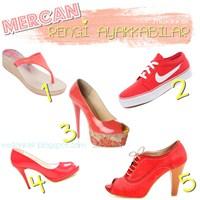 Modacıların Favorisi: Mercan Rengi Ayakkabılar !