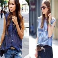 Yazlık Kolsuz Gömlek Modelleri
