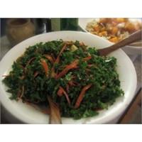 Pazı Salatası Yapılışı