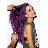 Mor Renk Saçlar