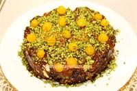 Fıstıklı Çikolatalı Mozaik Pasta