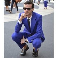Erkek Modası: Mavi Renk