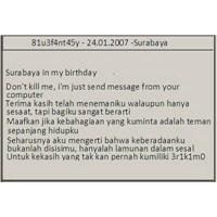 Surabaya İn My Birthday Virüsü Nasıl Silinir?