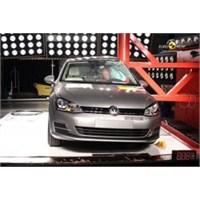 Volkswagen Golf 7 Euro Ncap'den 5 Yıldız Aldı