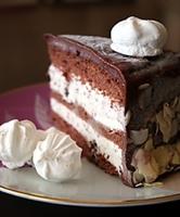 Çikolatalı Dondurmalı Pasta