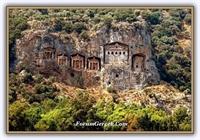Dalyan - Kral Kaya Mezarları