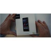 Xperia Z1 Compact Kutudan Çıkış Videosu !