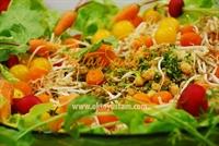 Oktay Usta dan Nohutlu Bulgur Salatası