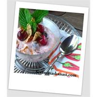 Dondurmalı Yoğurtlu Diyet Tatlı Nasıl Yapılır ?.