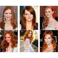 Çığ Gibi Büyüyen Bakır Renkli Saç Modası!