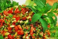 Nar Ekşili Kaşık Salatası
