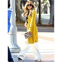 Jennifer Lopez Ve Sarı Modası