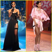 Rihanna Victoria's Secret Fashion Show 2013