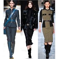 2012 Sonbahar-kış Trendi : Militer Tavır