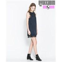 Zara Kısa Elbise Modelleri 2014