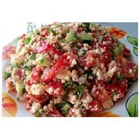 Çökelek Salatası/ Çingen Salatası/ Pilavı