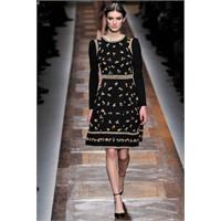 Paris Moda Haftası:2012 Valentino Sonbahar