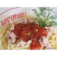 """Ton Balığı Soslu Spaghetti"""
