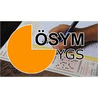 Ygs Sınavı 24 Mart 2013 Pazar Günü Yapılacak