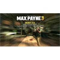 Max Payne 3 Geliyor