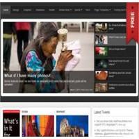 Snapwire Ücretsiz Profesyonel Portal Teması