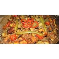 Fırında Patlıcan Kebap