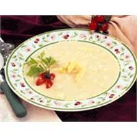 Kuşkonmazlı Pirinç Çorbası