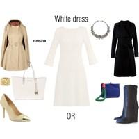 Beyaz Elbise Nasil Giyilir?