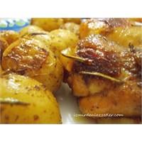 Fırında Patatesli Tavuk İzmirdenlezzetler