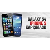 Galaxy S4 Vs İphone 5 Karşılaştırması