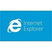 İnternet Explorer 10 Ve Varsayılan Ayar Dnt