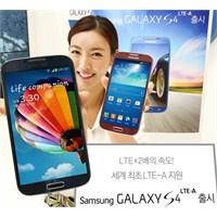 """Samsung'un Yeni Atağı: """"Galaxy S4 Lte-a"""""""