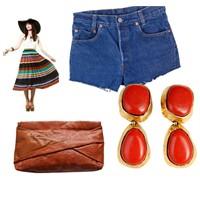 Vintage Giyinmek İçin Gerekli Parçalar