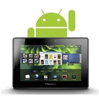 Playbook,android Uygulamalarını Nasıl Çalıştıracak