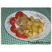 Patatesli Tavuk Kızartması